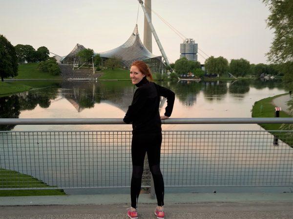 Workout im Olympia Park München