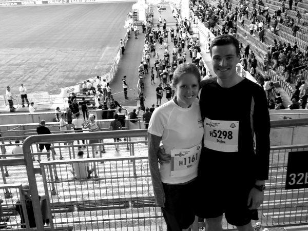 Halbmarathon in Stuttgart