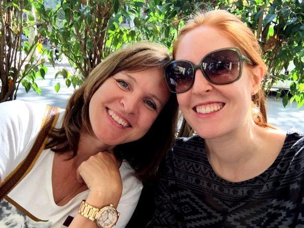 Mit Mama in Barcelona