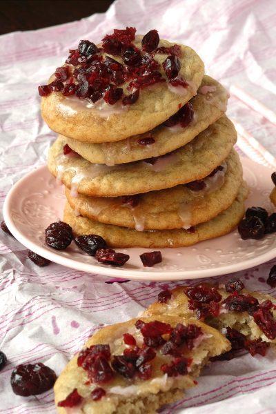 Cleane Bananen Cranberry Kekse ohne Zucker