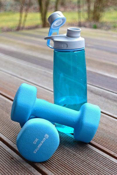 Hanteln workout