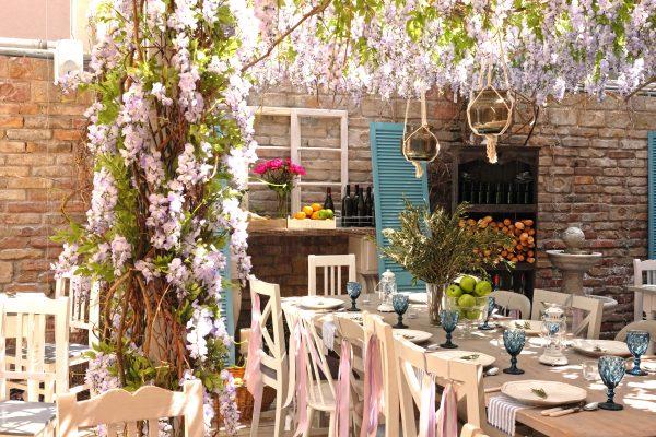 Vintage Garden Restaurant Budapest
