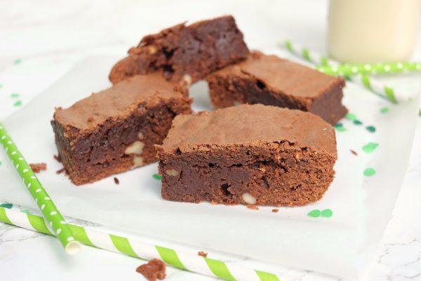 Rezept für saftige Schokoladenbrownies