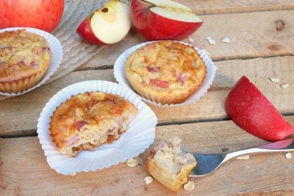 Apfelmuffins zum Frühstück