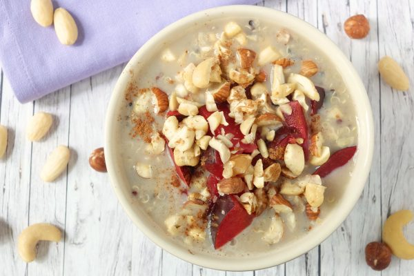 Rezept für Quinoa Frühstücksbrei