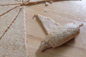 Fingerfood Rezept für Vollkorn Lachskipferl