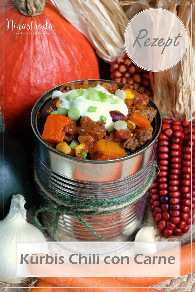 Rezept Kürbis Chili con Carne