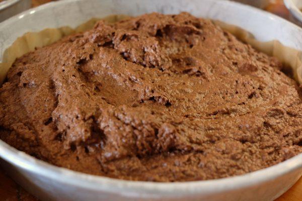Rezept für saftigen glutenfreien Schokoladen Kuchen