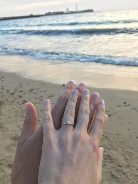 Heiratsantrag in Cadiz