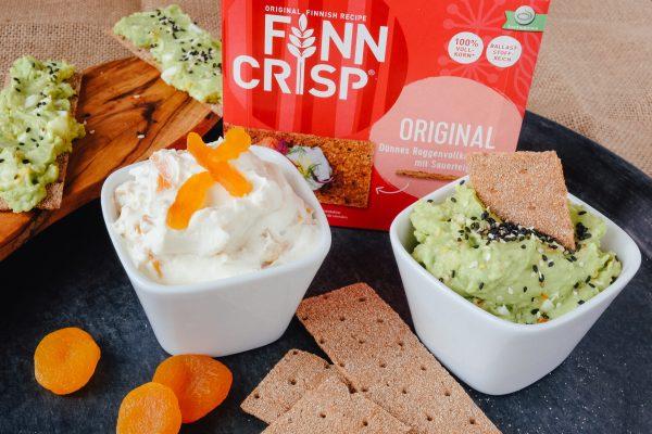 Gesunde Aufstriche Rezept mit Finn Crisp