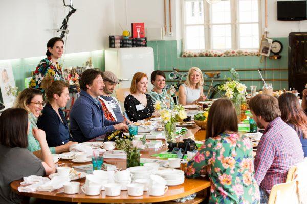 Blogger Frühstück mit Jamie Oliver