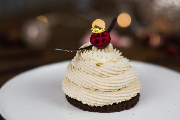 Rezept Maronen Mousse Törtchen für Weihnachtsmenü