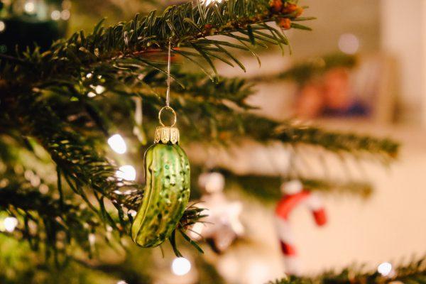 """Tradition und Geschichte der Weihnachtsgurke """"Christmas Pickle"""""""