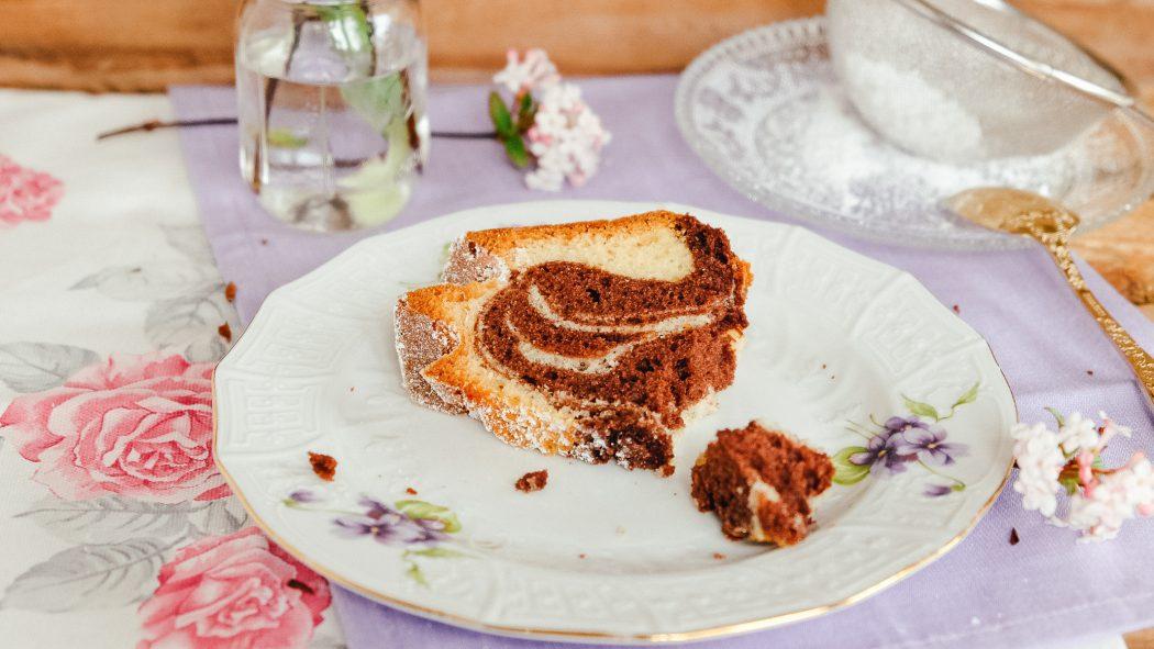 Einfaches Rezept Saftiger Marmorkuchen Joghurtkuchen