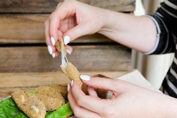 Rezept für Mozzarella Sticks aus dem Airfryer