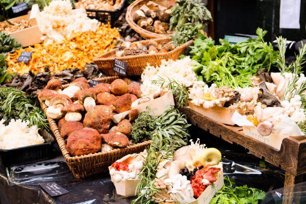London Borough Market Obst und Gemüse Angebot