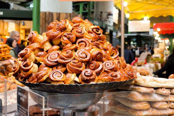 London Tipps für deinen Besuch auf dem Borough Market Zimtschnecken