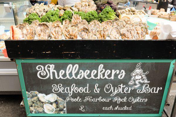 London Borough Market Austern