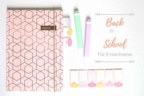 Back to School für Erwachsene - Motivation für die Arbeit und den Job