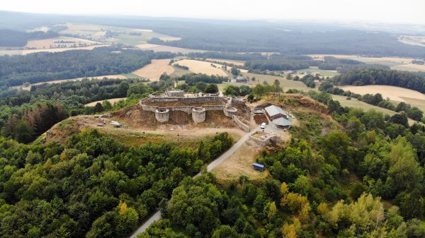 Burg Ruine Waldeck Bayern