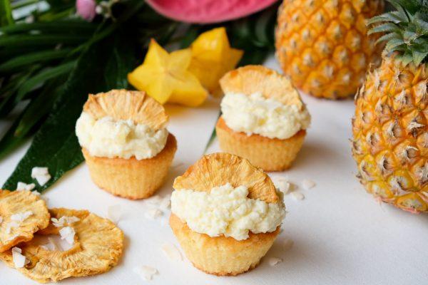 Pina Colada alkoholfrei Cupcakes