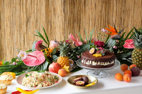 Buffet Mottoparty Tropical Party