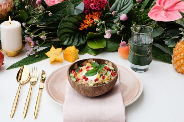 Party Rezept sommerlicher Salat leicht und schnell