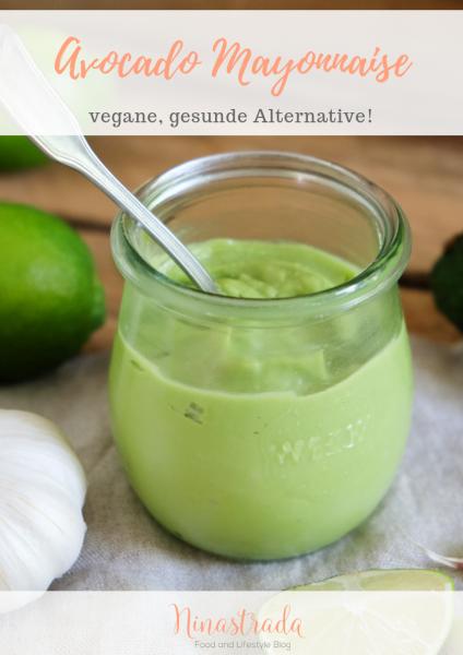 Vegane Avocado Mayo Rezept