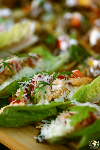 Mexican Fingerfood Rezept für Salat Burritos