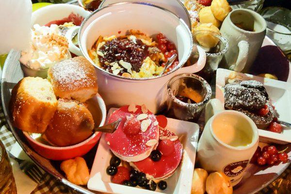Münchner Knödelei Oktoberfest Dessertpfannerl
