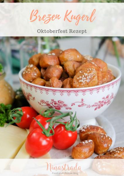 Oktoberfest Rezept: Brezen Kugerl. Laugengebäck selbermachen