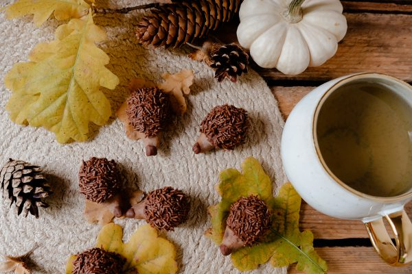Rezept für den Herbst: Cookie Dough Igel