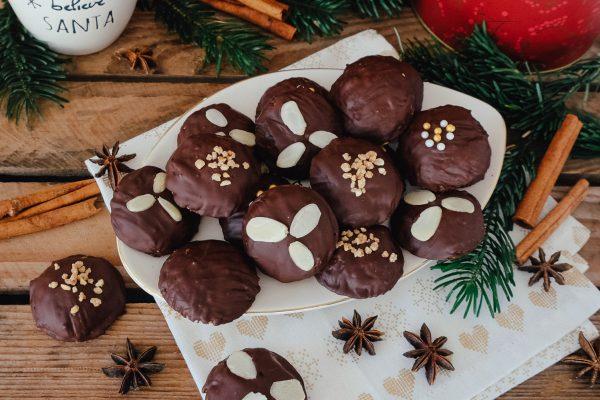 Rezept weiche Kürbis Lebkuchen für Weihnachten Plätzchen