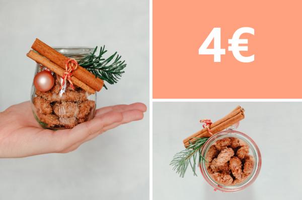 Geschenke aus der Küche: selbstgemachte gebrannte Mandeln für 4 Euro