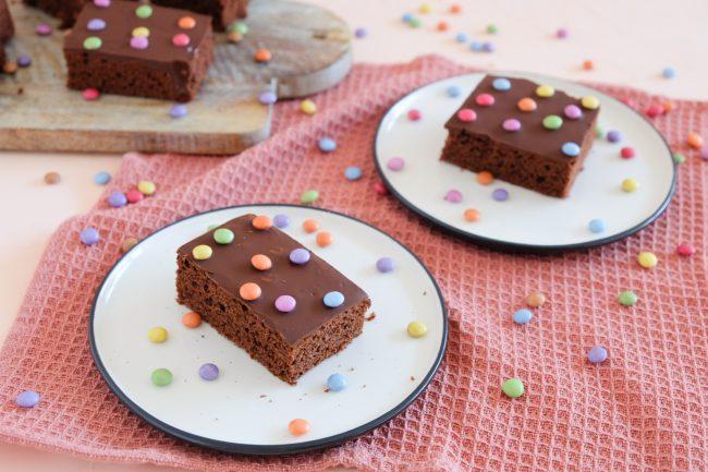 Einfacher Schokoladenkuchen Rezept für Geburtstag