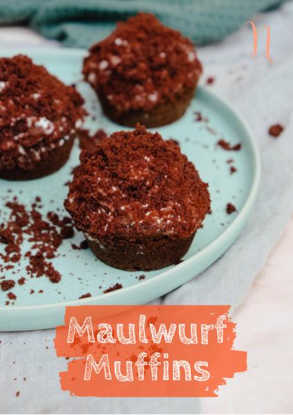 Saftige Muffins: Kleiner Maulwurfkuchen